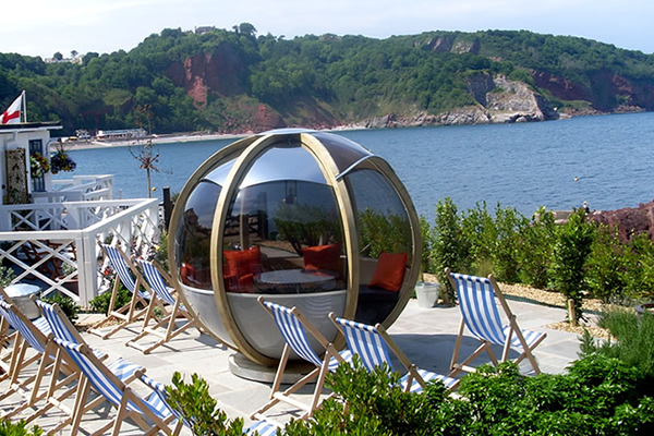 The Cary Arms 'The Sphere on the Beach'